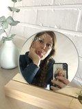 Spiegel met een boodschap_